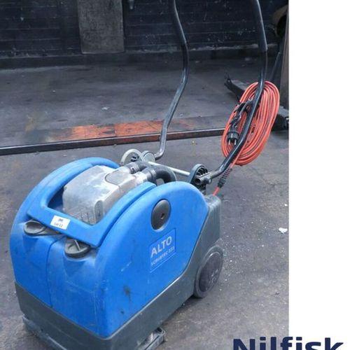 FLOOR WASHER BRAND NILFISK ALTO MODEL SCRUBTEC 233, MACHINE SOLD WITH INSTRUCTIO…