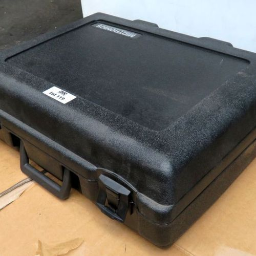 MIDTRONICS BRAND BATTERY TESTER CASE MODEL EXP 925. 1ST