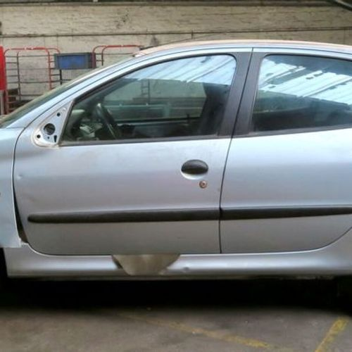 CAR PEUGEOT 206 1.9D Energy: GO Din power: 70 Colour: SILVER GREY METAL Number o…