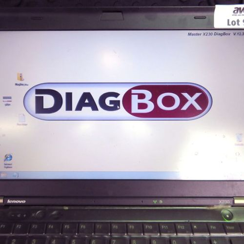 PSA DIAGBOX DIAGNOSTIC LAPTOP COMPUTER BRAND LENOVO X230. COMPUTER SOLD WITH ITS…