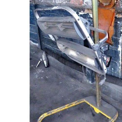 BODY HEATER ON CASTERS BRAND FILLON TECHNOLOGIES MODEL HELIOS GCDD1001 0207. AS …
