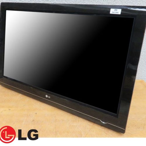 TELEVISEUR A ECRAN PLASMA DE 42 POUCES DE MARQUE LG MODELE 42PG3500, AVEC CABLE …