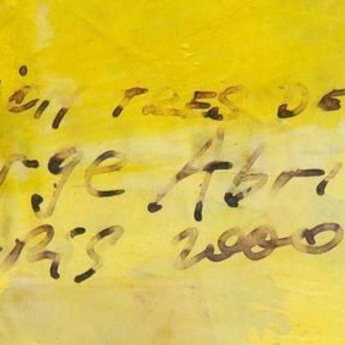 """SERGE ABRIL (NE EN 1949) """"OPERATION TRES DELICATE"""" TECHNIQUE MIXTE SUR PAPIER, S…"""
