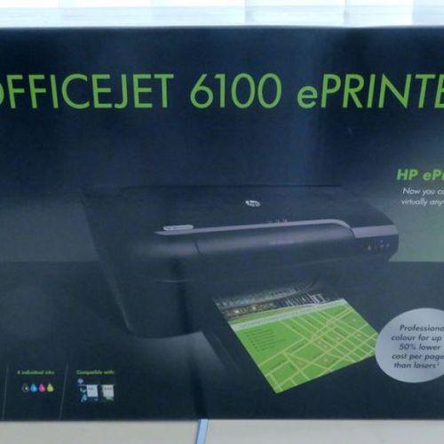 IMPRIMANTE HP COULEUR NEUVE DE MARQUE HP MODELE OFFICEJET 6100 EPRINTER, WIFI, R…