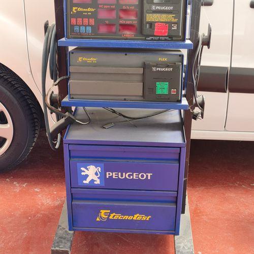 Analyseur de gaz de marque TECHNOTEST, modèle 488