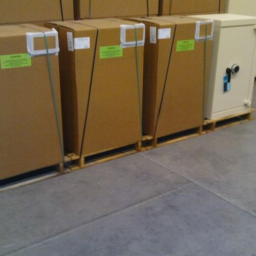 5 ACIAL 1/4 security strong cabinets, 232 litres, 1 door, electronic lock, mint …
