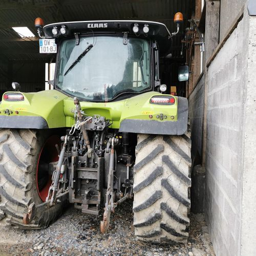 [ACI] Tractor CLASS ARION 650, Diesel, imm. DW 101 BJ, type T10CLATA0016186, ser…