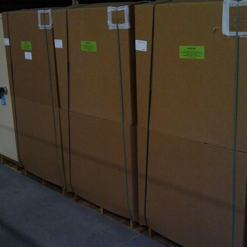 5 ACIAL security strong cabinets, 780 litres, 2 doors, electronic lock, new cond…