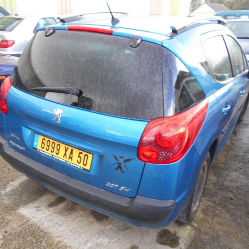 [PR] [ACI] For professionals only. PEUGEOT 207 SW 1.4 VTi 16 V 95 hp, Petrol, im…