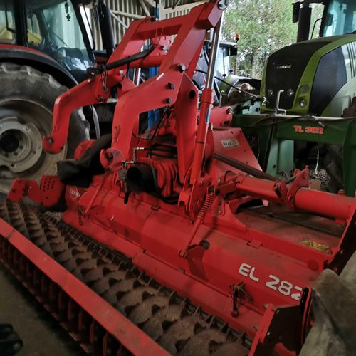 [PR]  For professionals only. KUHN EL282 300 horizontal axis cultivator (unkno…