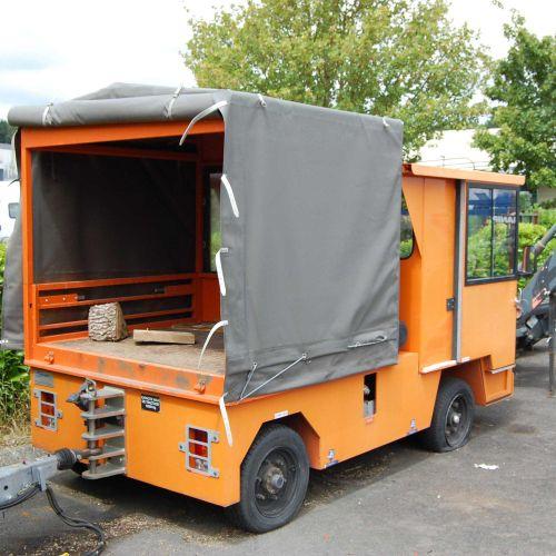 [PR] [ACI]  For professionals only. Handling tractor SOVAM K15, Diesel, imm. F…