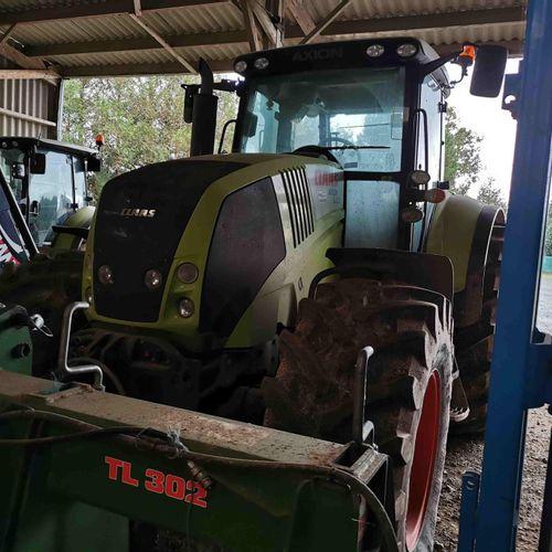 ACI] CLAAS AXION 840 tractor, diesel, imm. BV 566 LW, type T10CLATA0003245, seri…
