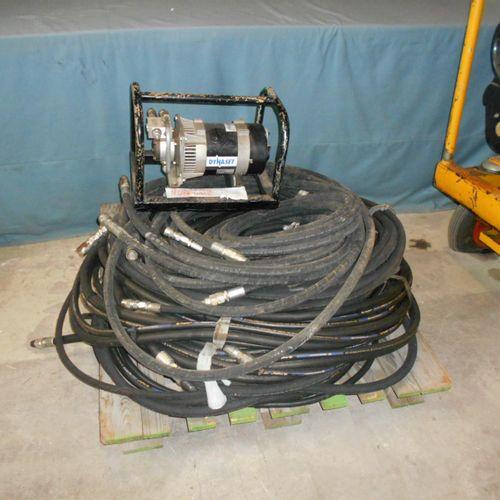 STANLEY mobile hydraulic power pack, 140 bar, HATZ Diesel engine, DYNASET hydrau…