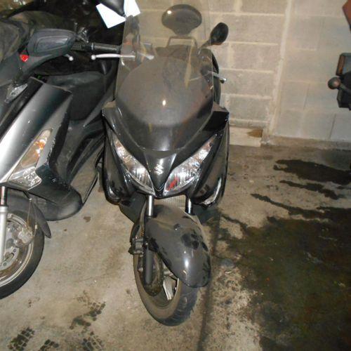 [ACI] SUZUKI Burgman Motorcycle 125, Gasoline, imm. EC 383 TK, type L3ESUZML000N…