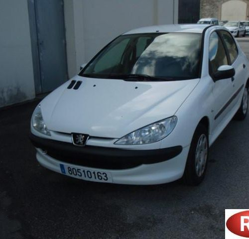 [PR] [ACI]  For professionals only.  PEUGEOT 206 1.4 HDi 70 hp, Diesel, imm. 8…