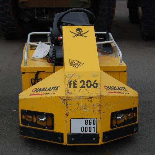 [PR] [ACI]  For professionals only. CHARLATTE TE206 handling tractor, Electric…