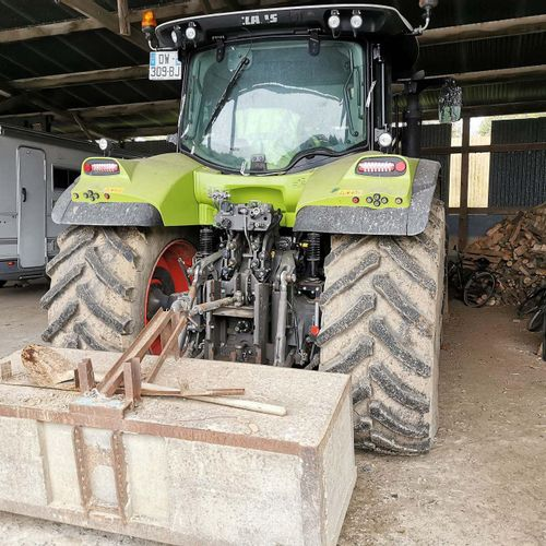 [ACI] CLAAS ARION 650 tractor with bucket, Diesel, imm. DW 309 BJ, type T10CLATA…
