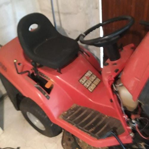 [PR]  For professionals only. Ride on mower EUROTWIN 13/92, year, serial number…