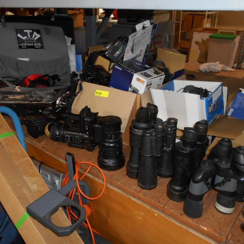 Various audio visual and optical materials, to be inventoried. Visits from 2 to …