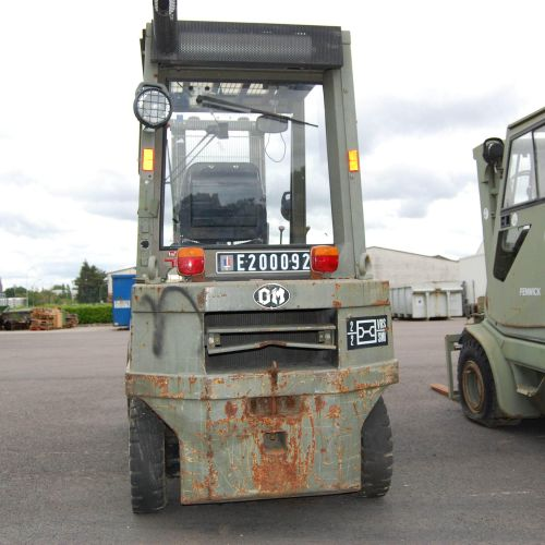 [PR]  For professionals only. FIAT thermal forklift truck (1995), n° E200092, m…