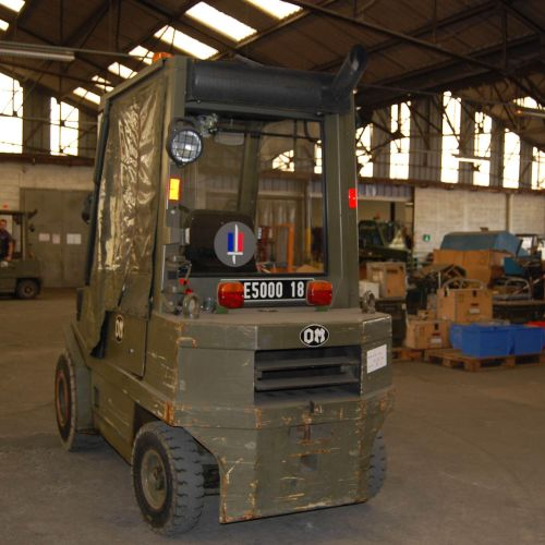 [PR] 	 For professionals only. FIAT thermal forklift truck (1995), n° E50018, mo…