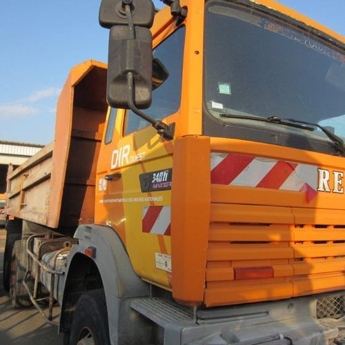 [PR] For professionals only. Truck RENAULT TRUCKS G340 26 6X4 TP, 3 seats, Diese…