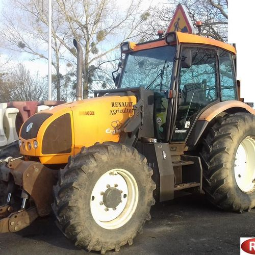 [PR] 	 For professionals only. 	 Tractor RENAULT ERGOS 456, Diesel, imm. CB 369 …