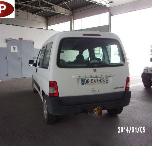 [PR]  For professionals only. PEUGEOT Partner comfort (M59) 1.6 HDi 75 hp, Dies…