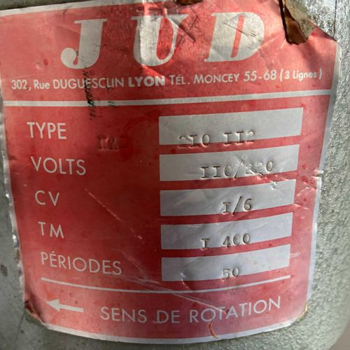 Perforator JUD 2I0II2 (year and serial number unknown), to be serviced. Deliveri…