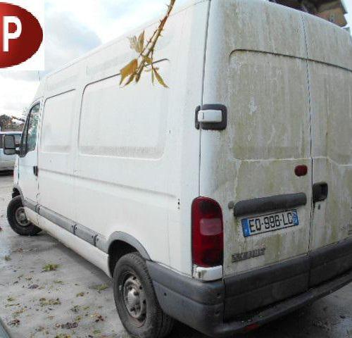 [RP] [ACI]  For professionals only. RENAULT Master II T33 2.5 D Van 80 hp, 3 se…