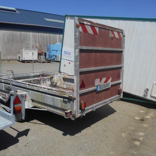 ACI] MARREC flatbed trailer, imm. 90 200 069, type unknown, serial no. 000ORIGIN…