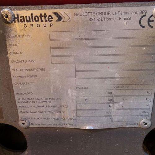 NACELLE CISEAUX ELECTRIQUE 8M HAULOTTE COMPACT 8 2002 Année : 2002 Energie : EL …