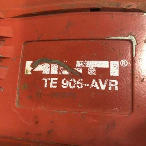 Marteau piqueur 230 V 11.3 kg HILTI TE 905 AVR Observations : « à revoir » « Mat…