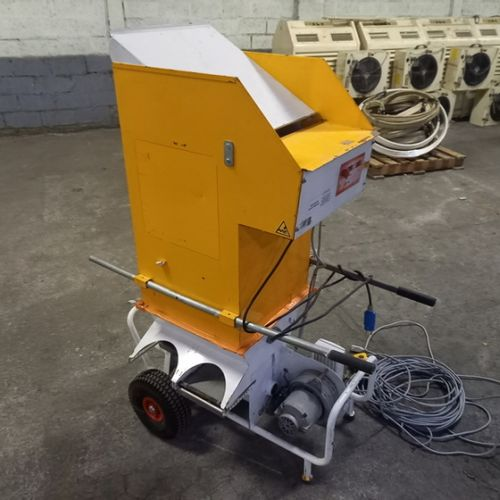 CELLULOSE WOOL BLOWER CARDER 230V 770KG/ HOURS VOLUMAIR TURBISOL 112/2 2012 Year…