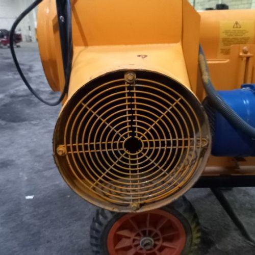 AERATEUR SOUFFLEUR 230V 2200W CALOREX TYPHOON 45 Energie : EL Couleur : JAUNE Ob…