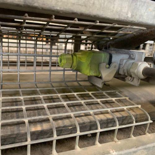 LOT DE 3 BANDES DE TRANSPORTEUSES DE 3M 230 V ETRAMO TRANSPORTBAND3M 2011 Année …