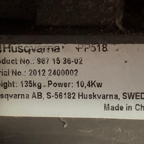 DECOUPEUSE HYDRAULIQUE AVEC GROUPE ESSENCE 16CV PROFONDEUR 270MM HUSQVARNA PP518…