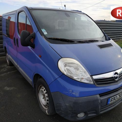 RP][ACI] 'For professional use only' OPEL VIVARO 2.5 CTDI 145 HP Diesel, imm. 89…