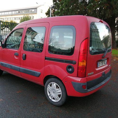 [CT] RENAULT KANGOO Diesel, imm. CX 187 QC, type MRE5022KT029, serial no. VF1KCT…