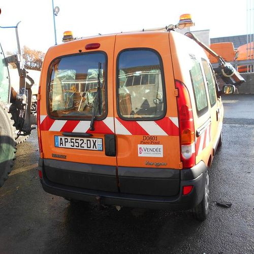 PR] Reserved for professionals: RENAULT Kangoo I Phase 2 break 1.5 dCi 85hp Dies…