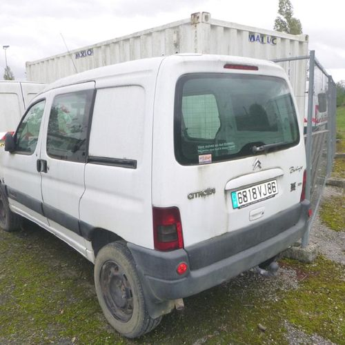RP][ACI] 'For professionals only' . CITROEN Berlingo 8hp, Diesel, 2 seats, imm. …