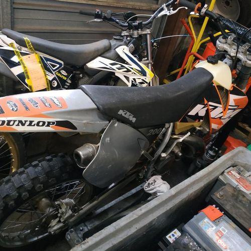 [ACI] KTM Enduro Gasoline motorcycle, imm. DN 941 RH, type LKM12G30P027, serial …