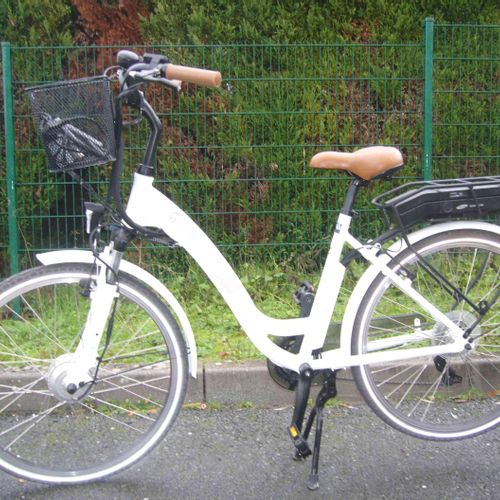 Electric bike 02Feel Vog D7 and its Samsung SDI battery Capacity Min 370 Wh/10.3…