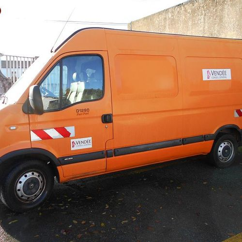 RP] Reserved for professionals: RENAULT Master II phase 3 2.5 dCi 100 Diesel, im…