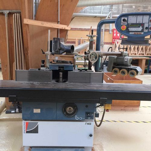 NC][RP] Reserved for professionals: Vertical milling machine 'Paolini' from 1988…