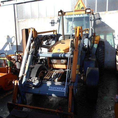 RP] Reserved for professionals: RENAULT TRACTOR ERGOS 100 Diesel, imm. AR 151 RC…