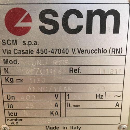 NC][RP] Reserved for professionals: Wide belt sander SANDYA UNO of 1996, type SC…