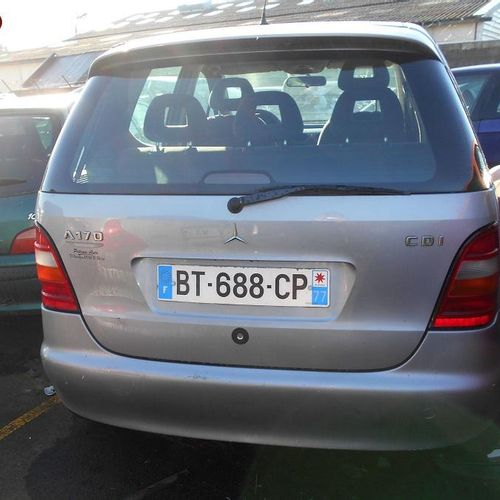 RP] [ACI] Reserved for professionals: MERCEDES CLASS A 170 CDI 1.7 CDI 90 HP Die…