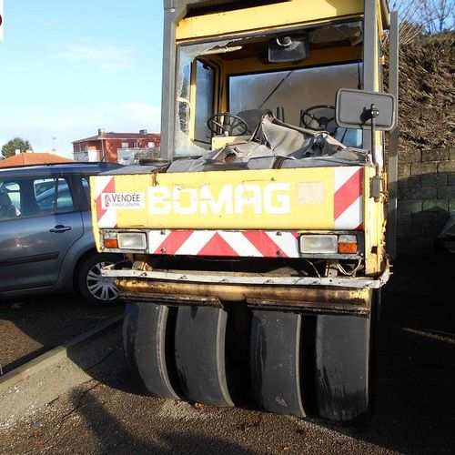 RP] Reserved for professionals: MIXED CYLINDER 9.5 T BOMAG BW164AC OF JUNE 1992 …