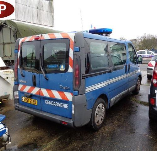 RP][ACI] Reserved for professionals : RENAULT TRAFIC Gazole, imm. 20512089, type…
